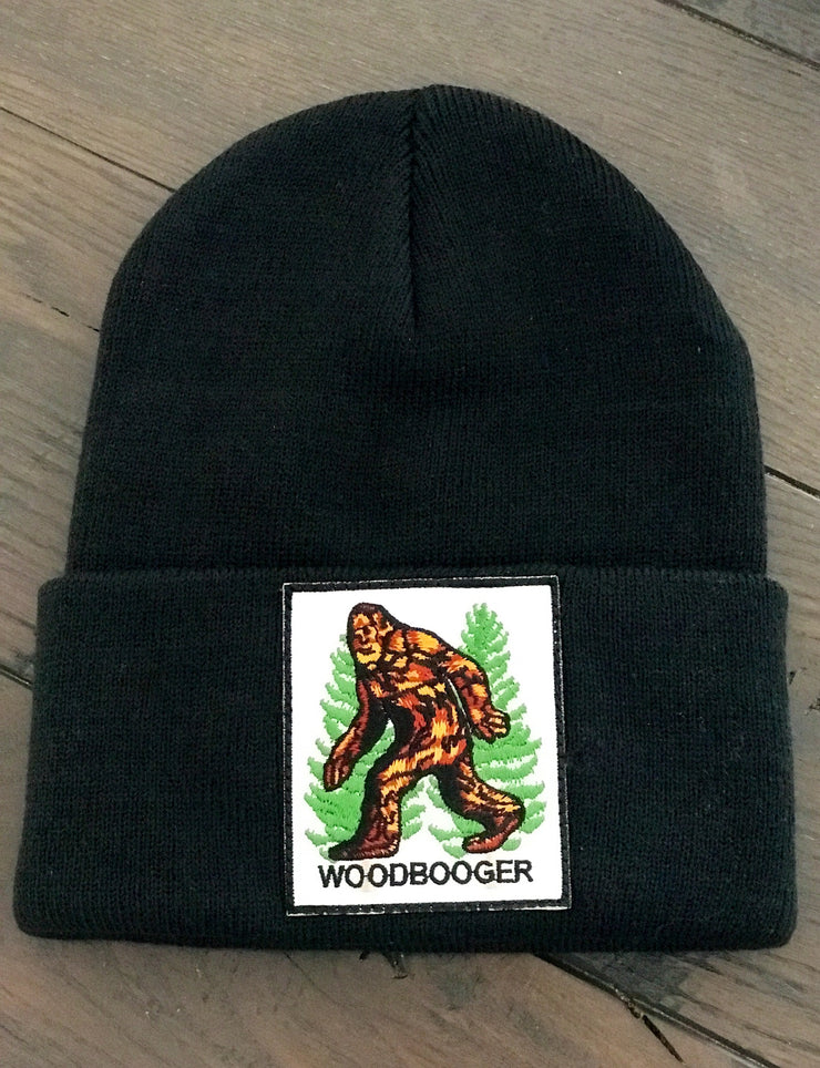 WOODBOOGER Cryptid Series Stocking Hat - Black