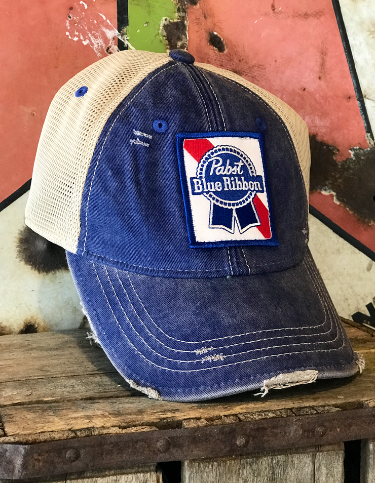 Pabst Blue Ribbon Stretch Fit Hat