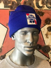 Pabst Blue Ribbon Stocking Cap
