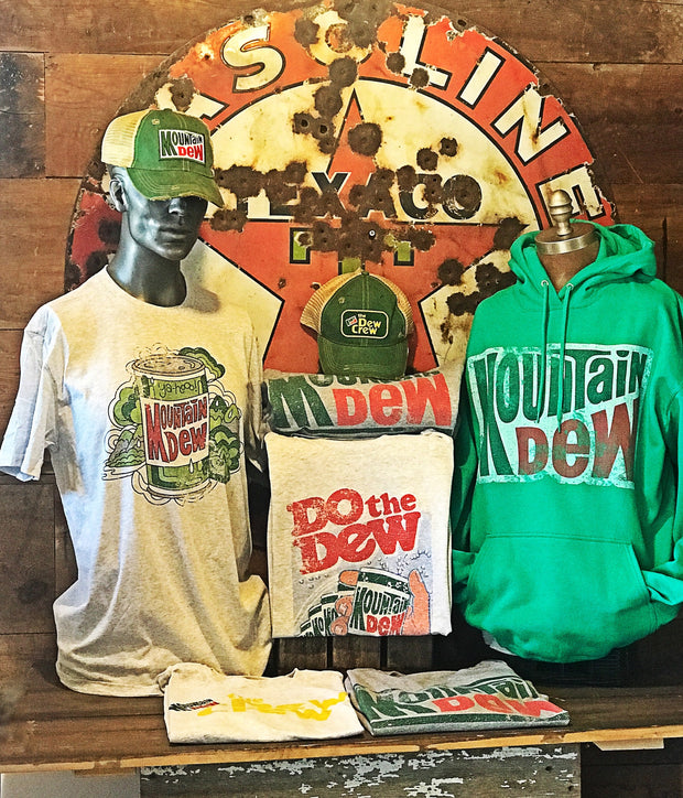 Mountain Dew Apparel Angry Minnow Vintage
