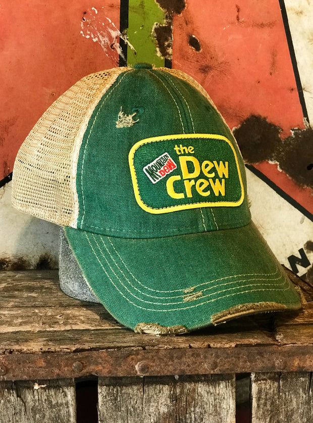 Mountain Dew Distressed Ball Cap