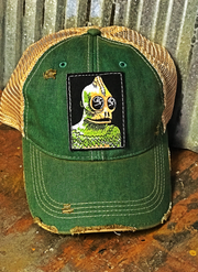 Slee Stack Monster- Clover Green Distressed