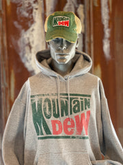 Mountain Dew Hoodie- Heather Grey