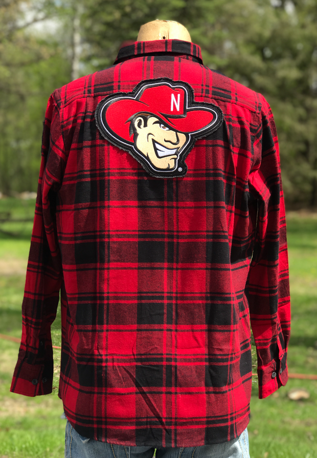 Nebraska Cornhuskers- Classic Patch Flannel