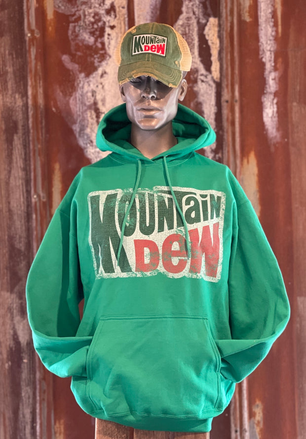 Mountain Dew Hoodie- Green