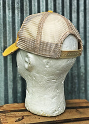 Fishing Lure Hat- Distressed Ginger Snapback
