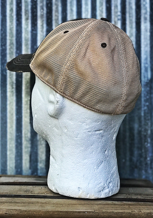 Stretch Fit Baseball Cap Angry Minnow Vintage
