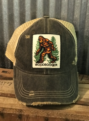 Cryptid Apparel Angry Minnow Vintage Bigfoot
