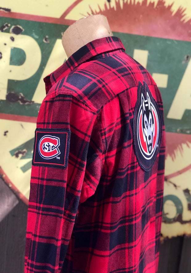 St. Cloud University Classic Red Flannel