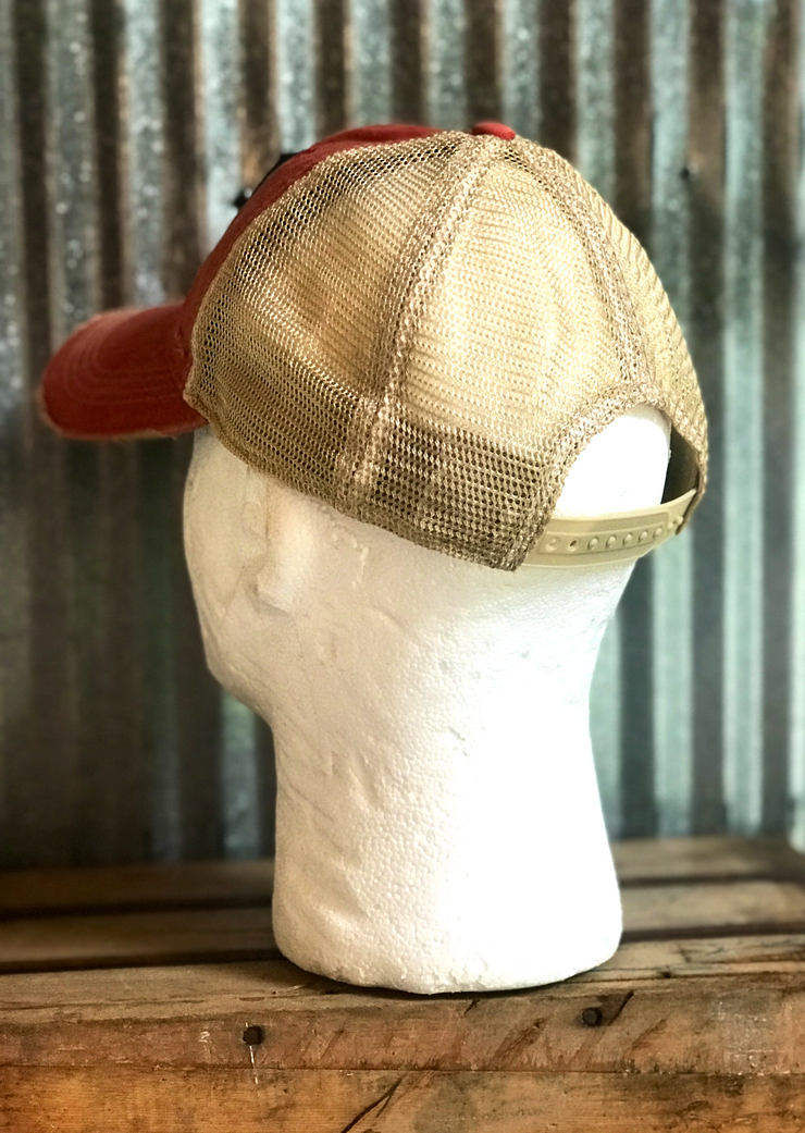 Angry Minnow Vintage Distressed Ball Cap
