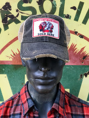 Muncy Brand Distressed Hat Seeds
