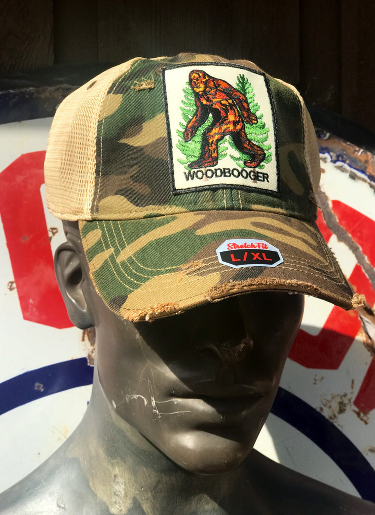 Woodbooger Stretch Fit Ball Cap