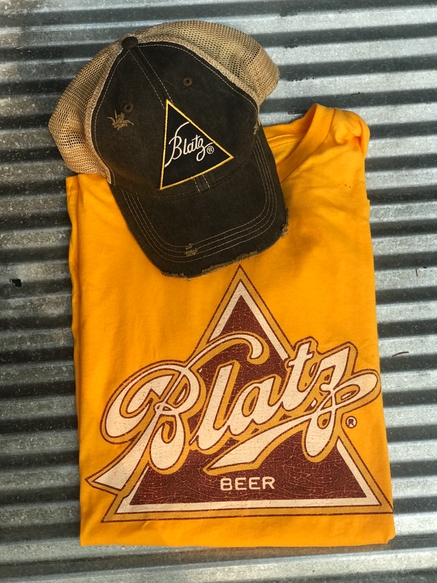 Blatz Beer Apparel Angry Minnow Vintage