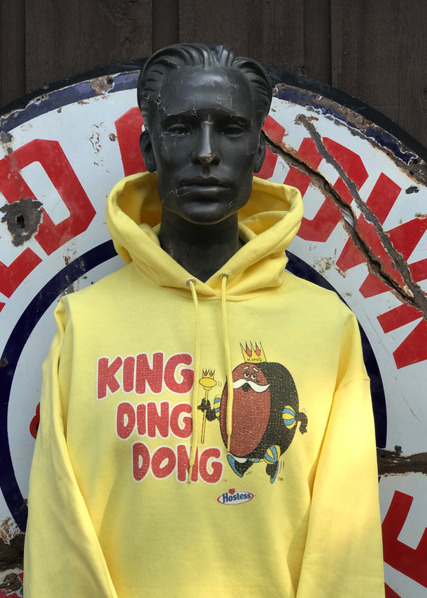 King Ding Dong Hostess Hoodie Angry Minnow Vintage