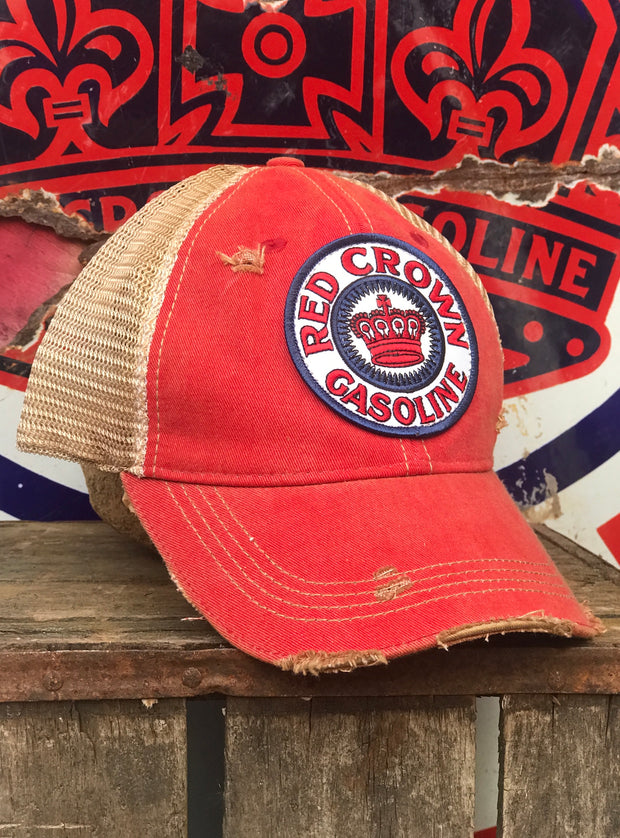 Red Crown Gas Distressed Hat