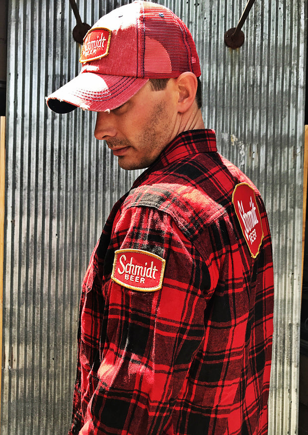 Minnesota Beer Flannel- Red