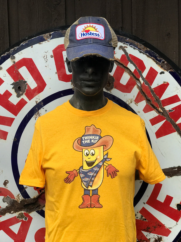 Twinkie the Kid short sleeved Tee- Gold