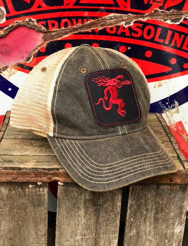 Fireball Whisky Hat Officially Licensed Angry Minnow Vintage