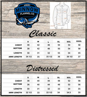 Size Chart Angry Minnow Flannels