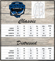 Angry Minnow Vintage Size Chart