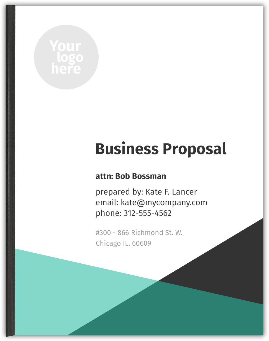 Business Proposal Template  Business Propsal Template