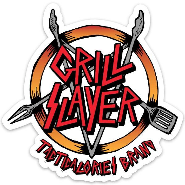 Grill Slayer Sticker