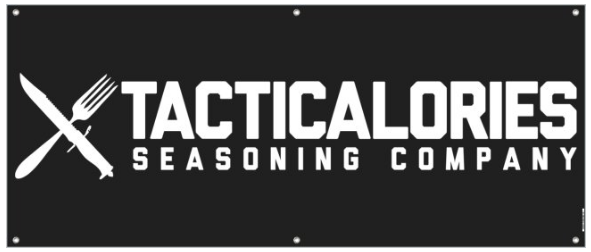 Tacticalories Seasoning Company Banner