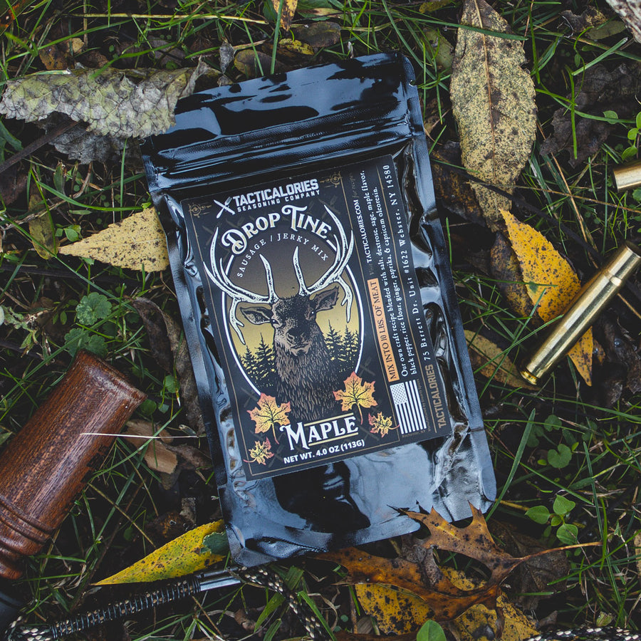 DROP TINE | Maple Seasoning [Perfect for Jerky & Sausage]