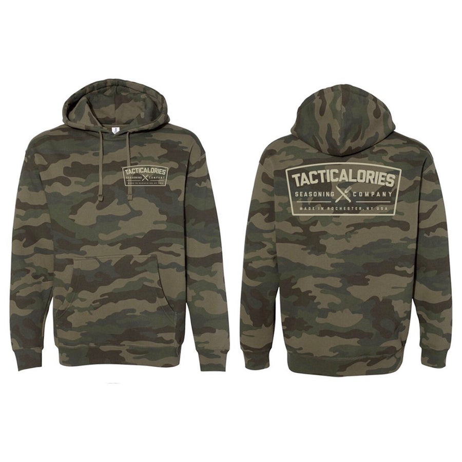 SMOKESCREEN | Heavyweight Camo Hoody