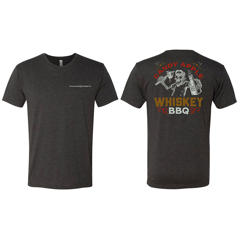 CANDY APPLE WHISKEY BBQ | Logo T-Shirt