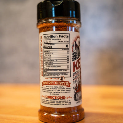 KETO BBQ | SMOKEY, SAVORY, SWEET SUGAR FREE BBQ SEASONING by Keto Rubs