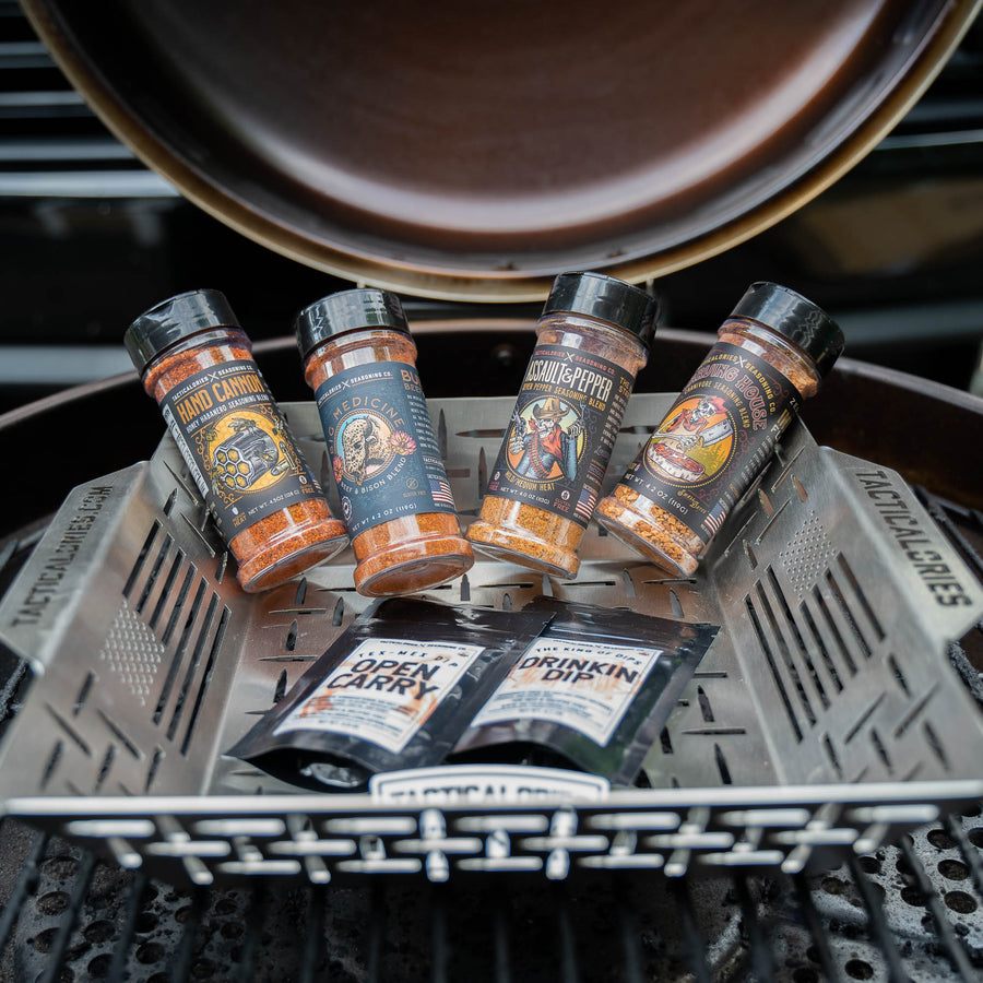 GRILL GOD GIFT KIT | The Ultimate Grillin' Kit