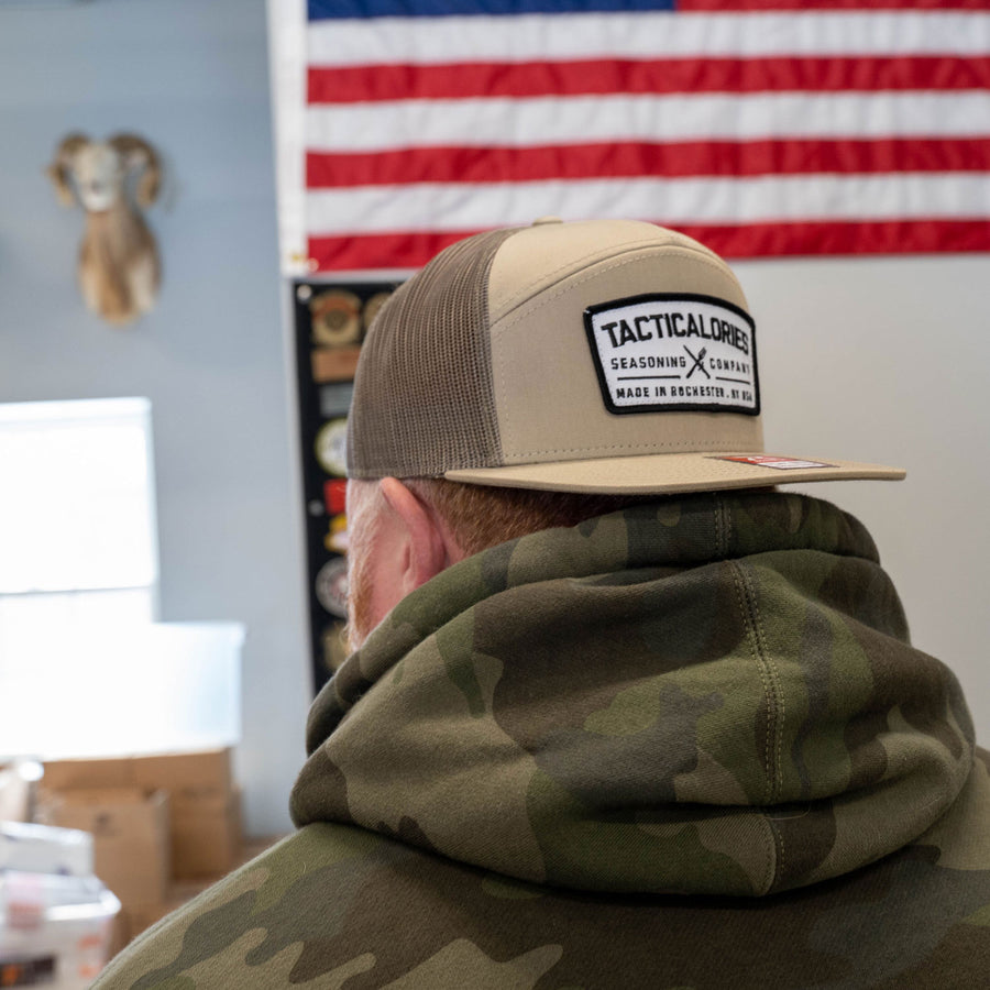 "Tacticalories ""Real Patch"" 7 Panel Trucker"