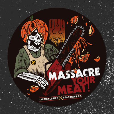 Massacre Your Meat Sticker