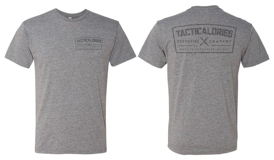 Tacticalories 2020 Grey Washout T-Shirt