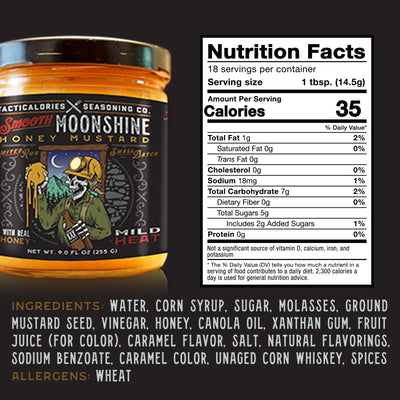SMOOTH MOONSHINE HONEY MUSTARD | True American Tradition of Flavor