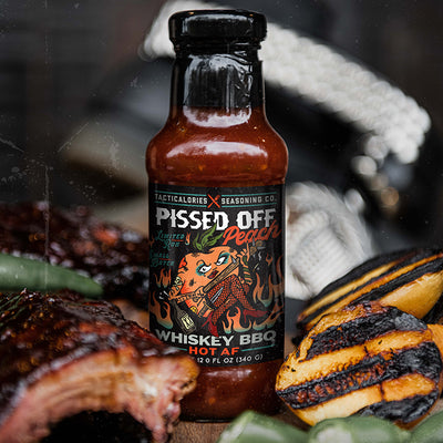 Pissed Off Peach Whiskey BBQ Sauce