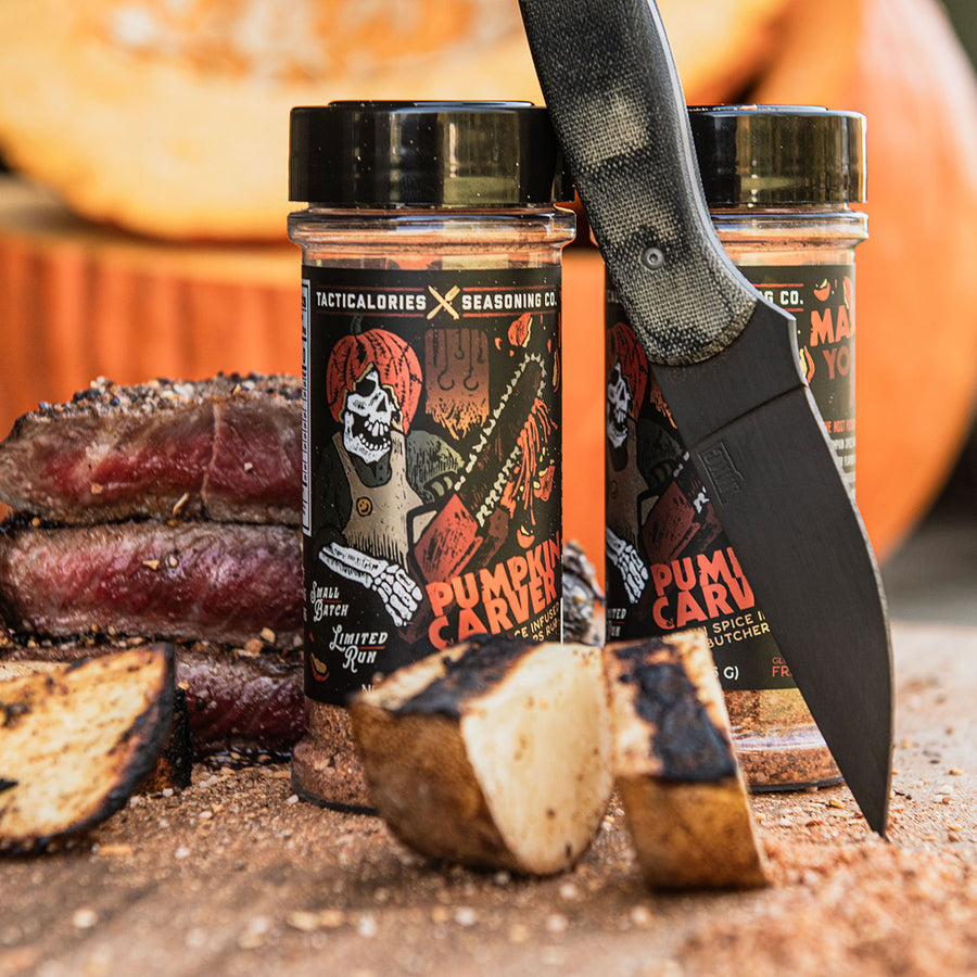 PUMPKIN CARVER | Pumpkin Spice Infused Butchers Rub