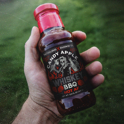 HOT AF - CANDY APPLE WHISKEY BBQ | Delicious Small-Batch Craft BBQ Sauce