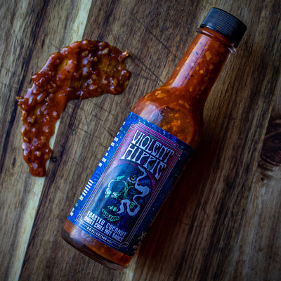 VIOLENT HIPPIE | Toasted Coconut Ghost Chile Hot Sauce