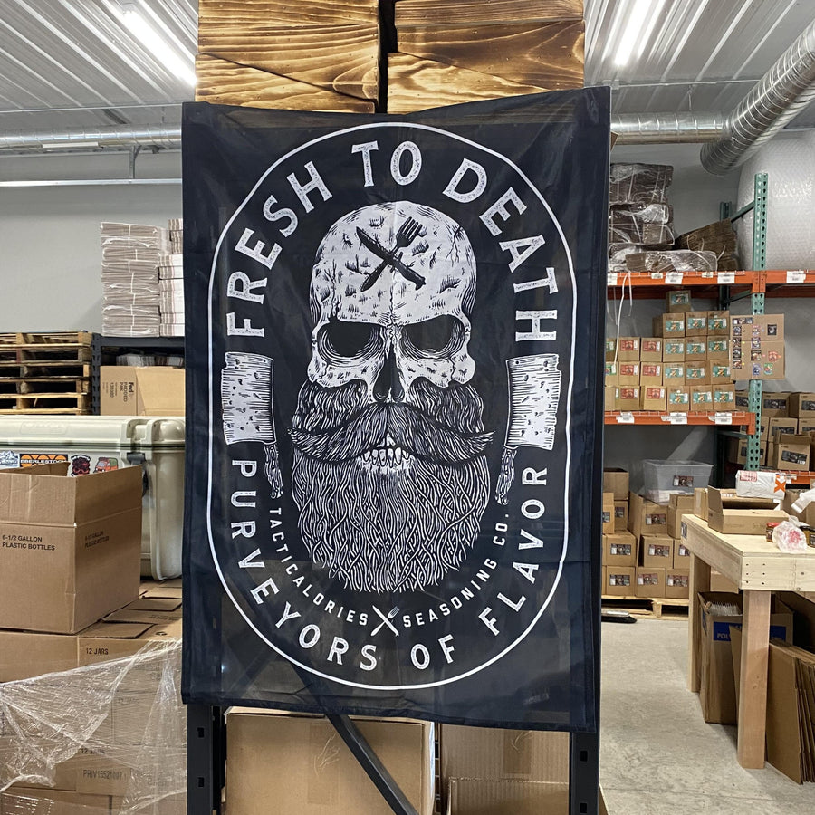 FRESH TO DEATH Flag