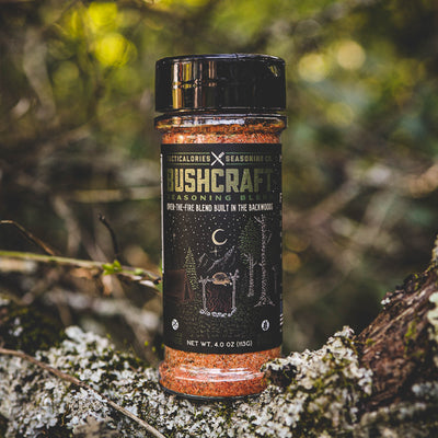 BUSHCRAFT |  Herby, Savory, Over-The-Fire Seasoning