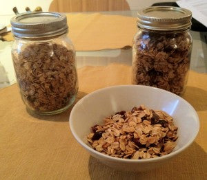 Homemade Granola with Herbs