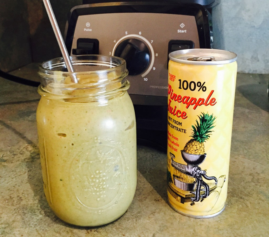 The Best Tropical Green Smoothie Ever