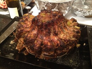 YANKEE STADIUM (Or, A Crown Roast of Pork for Pan Chance '11)