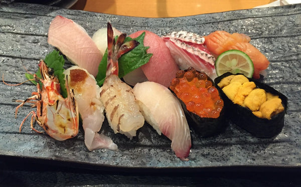 The Sushi in Japan