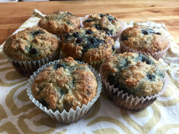 Blueberry Birthday Muffins