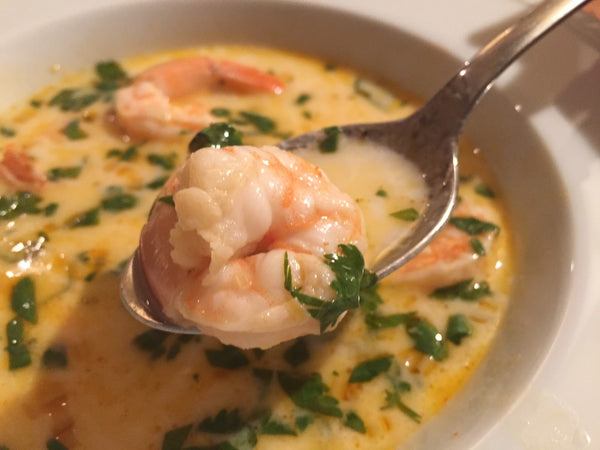 Curry Coconut Shrimp Soup