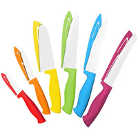 Chef's Choice Colorful Professional 12 Piece Knife Set By Cooler Kitchen - Cooler Kitchen