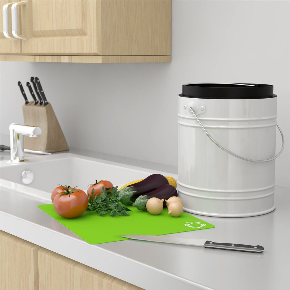 Oversized 1.3 Gallon Kitchen Compost Bin with Charcoal Filters - Cooler Kitchen